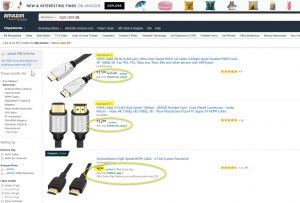 Amazon private label products, Amazon Basics, frequently compete side by side with 3rd party sellers.