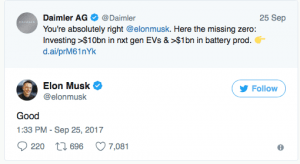 Elon Musk Tweet -